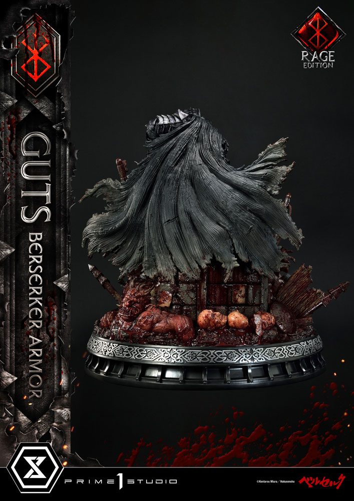 Berserk Statue 1/4 Guts Berserker Armor Rage Edition 67 cm