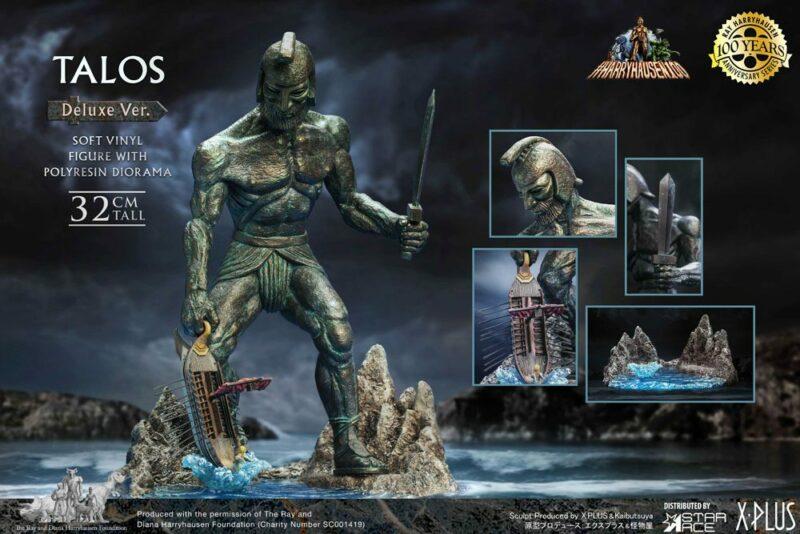 Jason and the Argonauts Soft Vinyl Statue Ray Harryhausens Talos Deluxe Ver. 32 cm