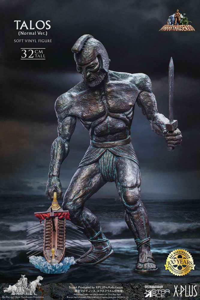 Jason and the Argonauts Soft Vinyl Statue Ray Harryhausens Talos 32 cm