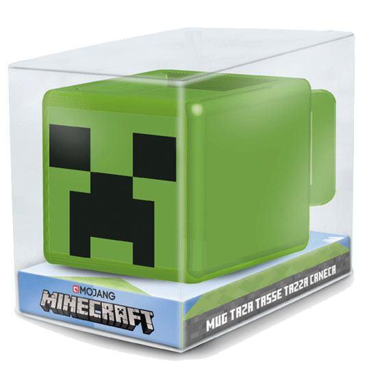 Minecraft 3D Mug Creeper Face