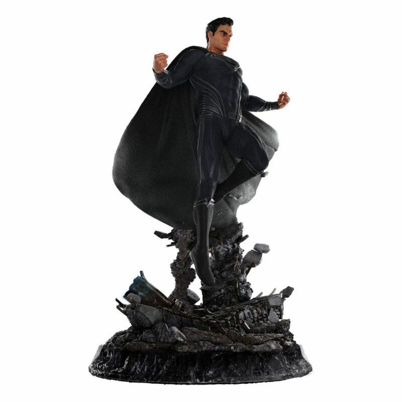 Zack Snyder's Justice League Statue 1/4 Superman Black Suit 65 cm
