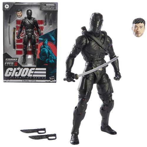 G.I. Joe Classified Series Snake Eyes: G.I. Joe Origins Wave 3 2021 Action Figures Snake Eyes 15 cm