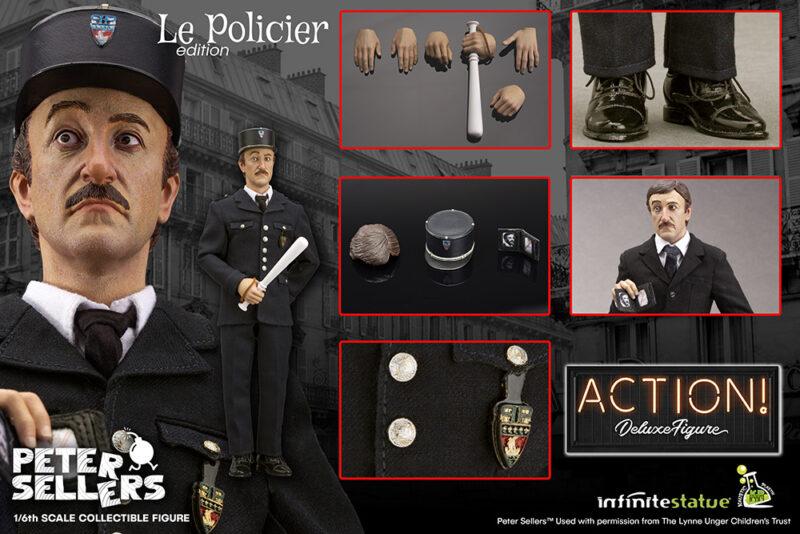 PETER SELLERS LE POLICIER 1/6 ACTION FIGURE