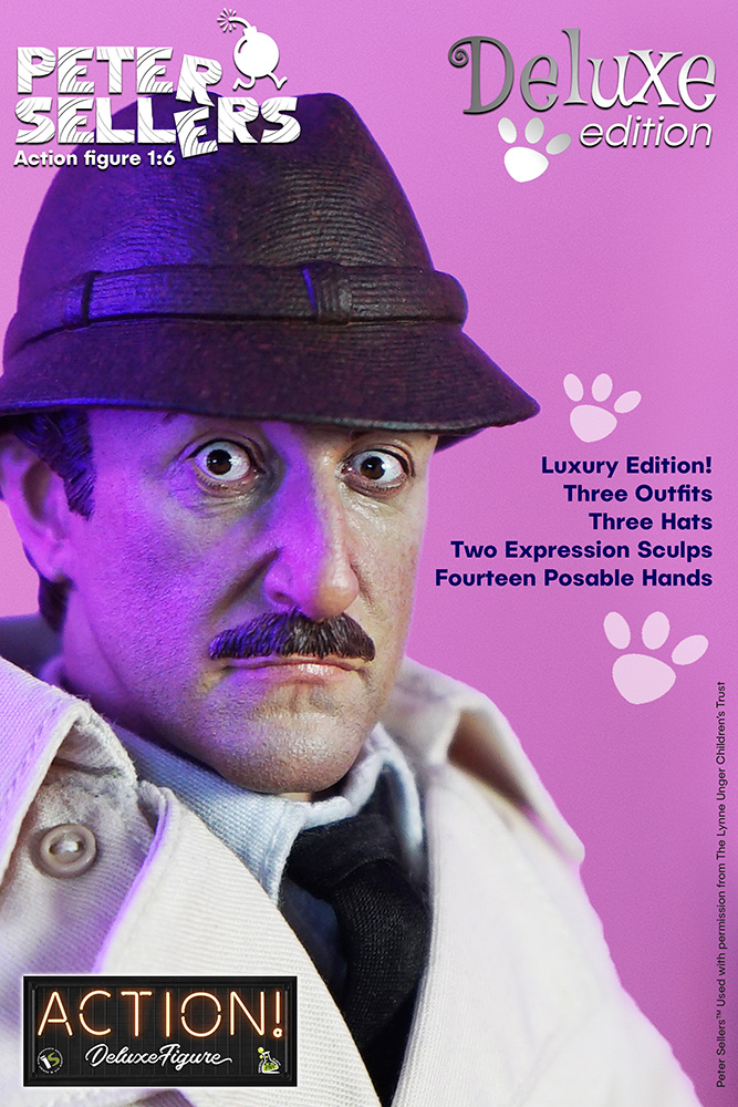 PETER SELLERS DELUXE 1/6 ACTION FIGURE