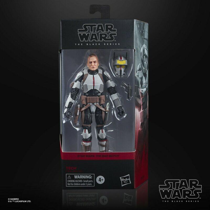 Star Wars The Clone Wars - Black Series Action Figure Bad Batch Tech 15 cm