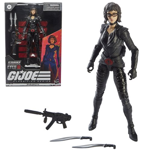 G.I. Joe Classified Series Snake Eyes: G.I. Joe Origins Wave 3 2021 Action Figures Baroness 15 cm
