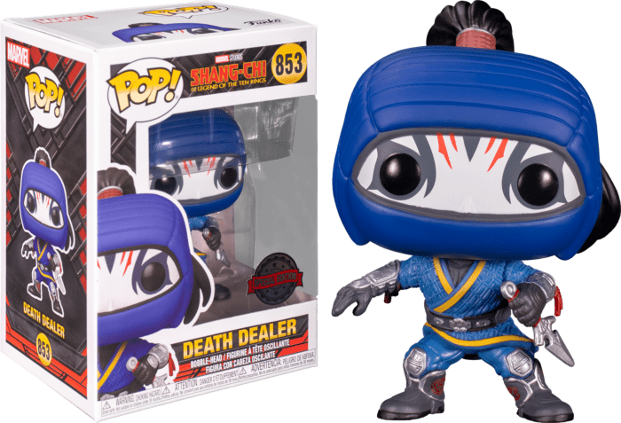 Shang-Chi and the Legend of the Ten Rings POP! Vinyl Figure Death Dealer Limited 9 cm