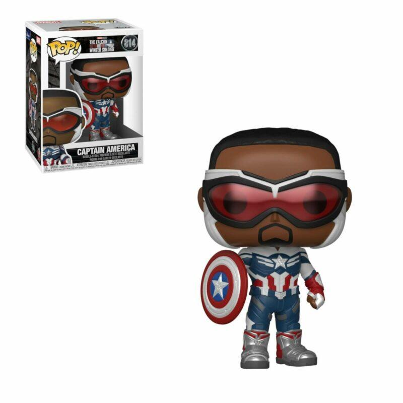 The Falcon and the Winter Soldier POP! Vinyl Figure Captain America 9 cm