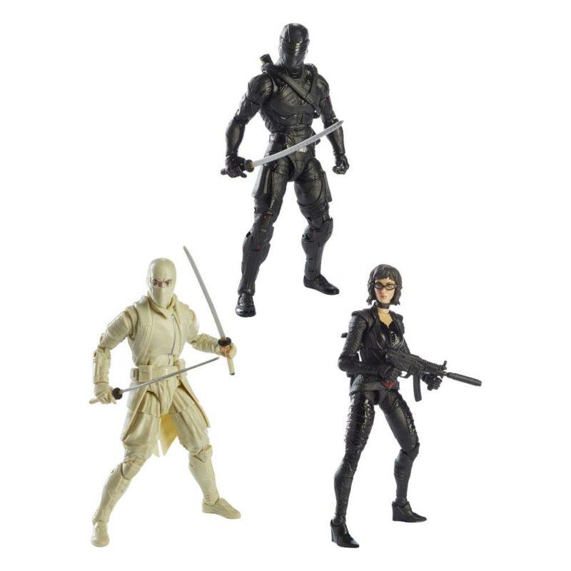 G.I. Joe Classified Series Snake Eyes: G.I. Joe Origins Action Figures 2021 Wave 3 Assortment (3)