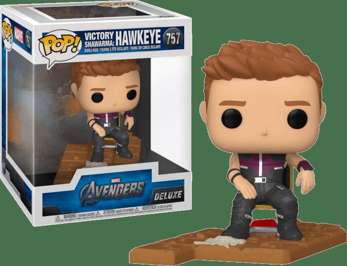 The Avengers POP! Vinyl Figure Hawkeye Victory Shawarma Diorama Deluxe Limited