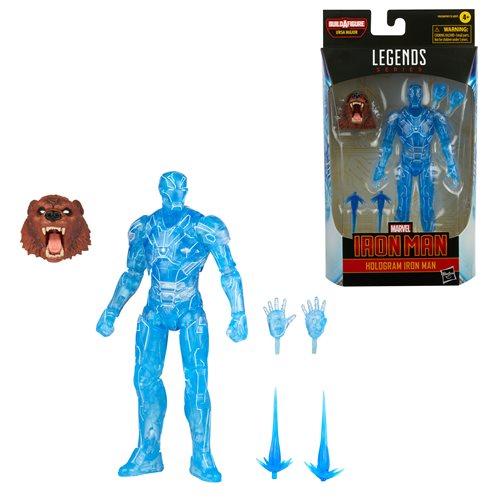 Marvel Legends Comic Action Figure Hologram Iron Man 15 cm