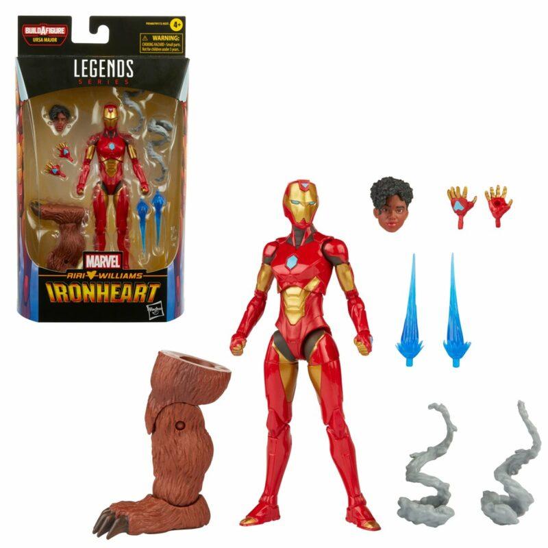 Marvel Legends Comic Action Figure Ironheart 15 cm
