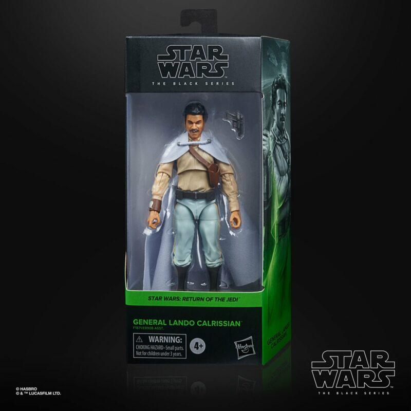 Star Wars The Return of The Jedi - Black Series Action Figure General Lando Calrissian 15 cm