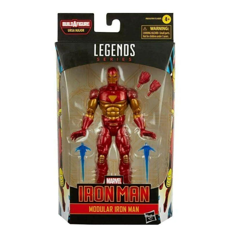 Marvel Legends Comic Action Figure Modular Ironman 15 cm