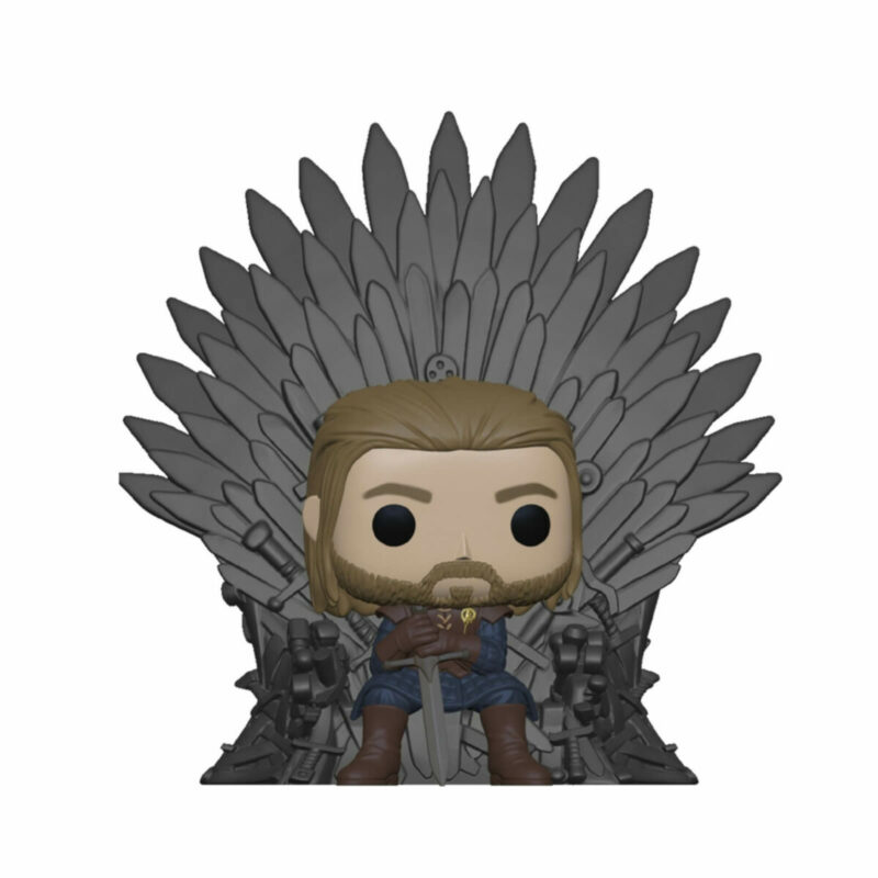 Game of Thrones POP! Deluxe Vinyl Figure Ned Stark on Throne 9 cm