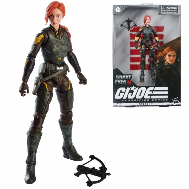G.I. Joe Classified Series Snake Eyes: G.I. Joe Origins Wave 4 2021 Action Figure Scarlett