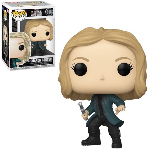 The Falcon and the Winter Soldier POP! Vinyl Figure Sharon Carter 9 cm