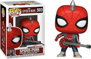 Marvel Spider-Man Gameverse POP! Animation Vinyl Figure Spider Punk 9 cm