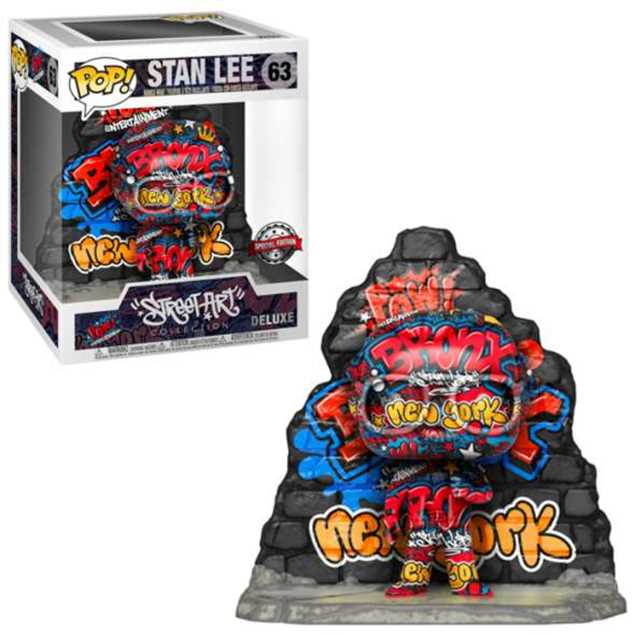 Marvel POP! Vinyl Figure Stan Lee (Graffiti Deco) 25 cm