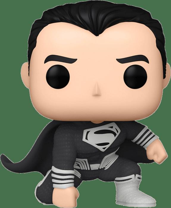JUSTICE LEAGUE SNYDER CUT - VINYL FIGURE SUPERMAN IN LANDING POSE 9 CM