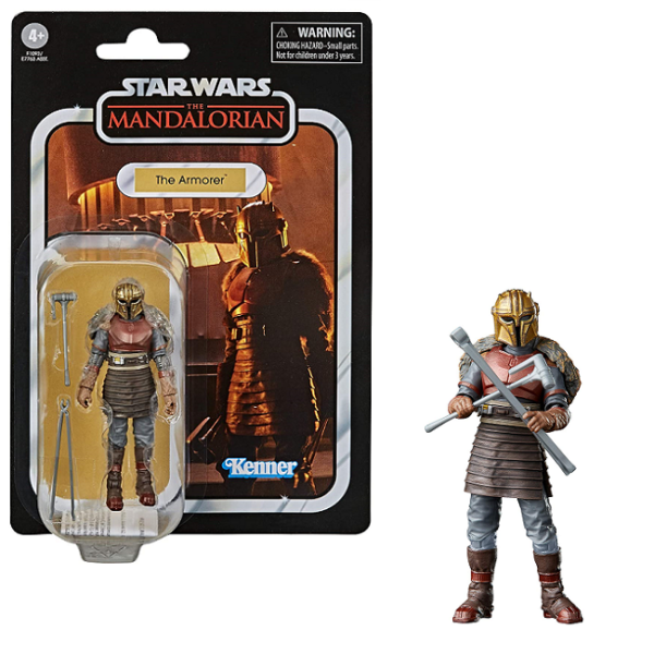 Star Wars The Mandalorian - Vintage Collection Action Figure The Armorer 10 cm