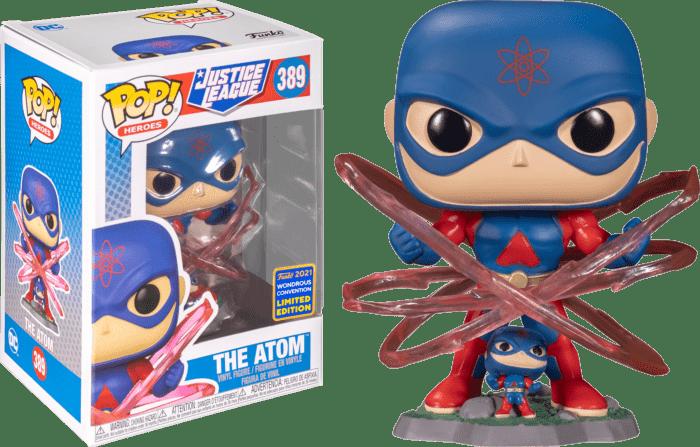 Justice League POP! Vinyl Figure The Atom 9 cm (con bollino Wondrous Convention Exclusive 2021)