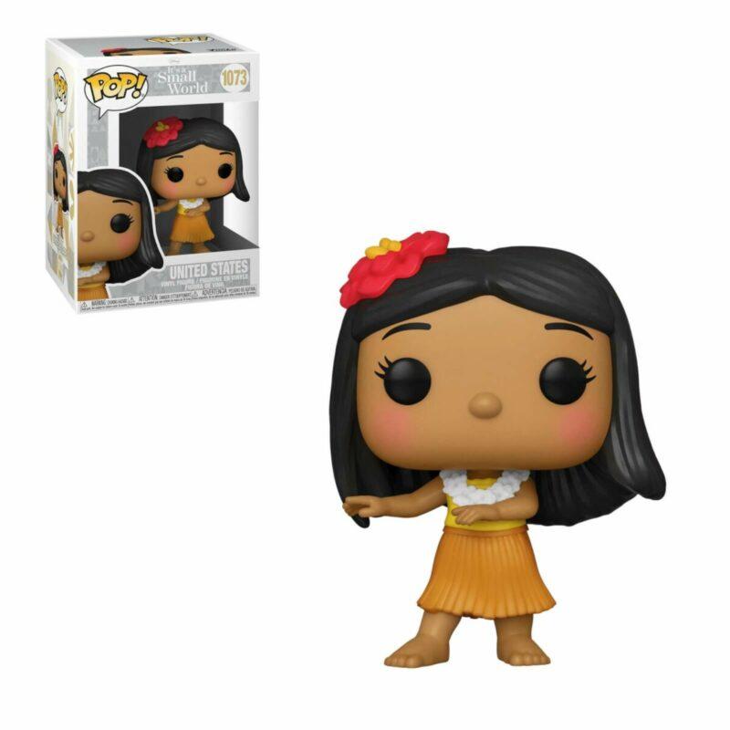 Disney: Small World POP! Disney Vinyl Figure United States 9 cm