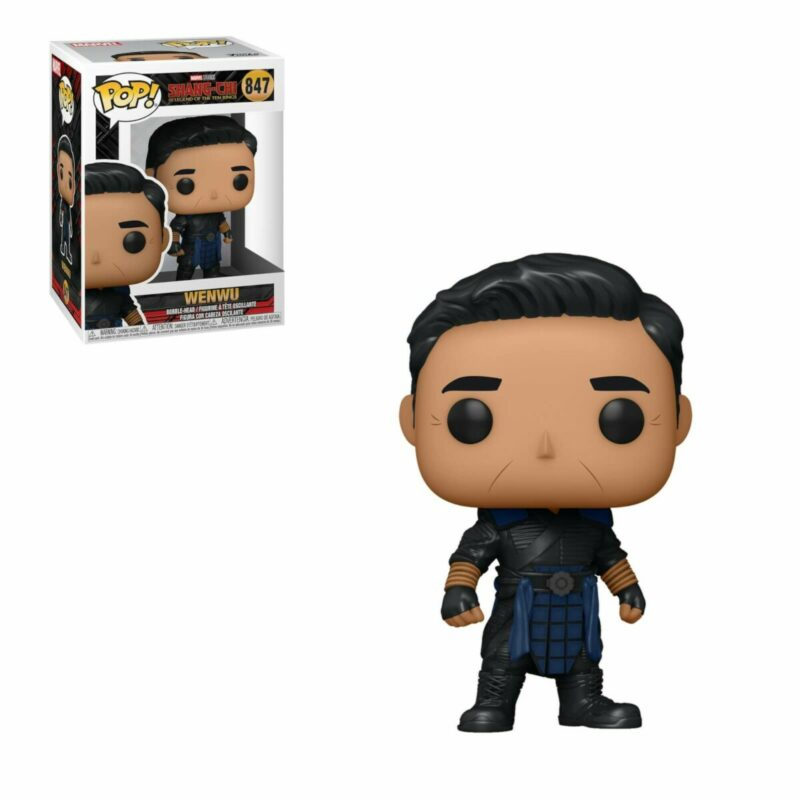 Shang-Chi and the Legend of the Ten Rings POP! Vinyl Figure Wenwu 9 cm