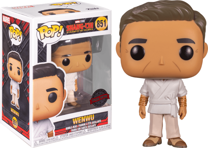 Shang-Chi and the Legend of the Ten Rings POP! Vinyl Figure Wenwu Limited 9 cm