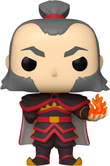 Avatar The Last Airbender POP! Animation Vinyl Figure Admiral Zhao with Fireball Glow in the Dark Limited 9 cm