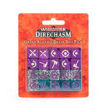 Warhammer Underworlds: Direchasm – Pacchetto di dadi della Grande Alleanza Morte