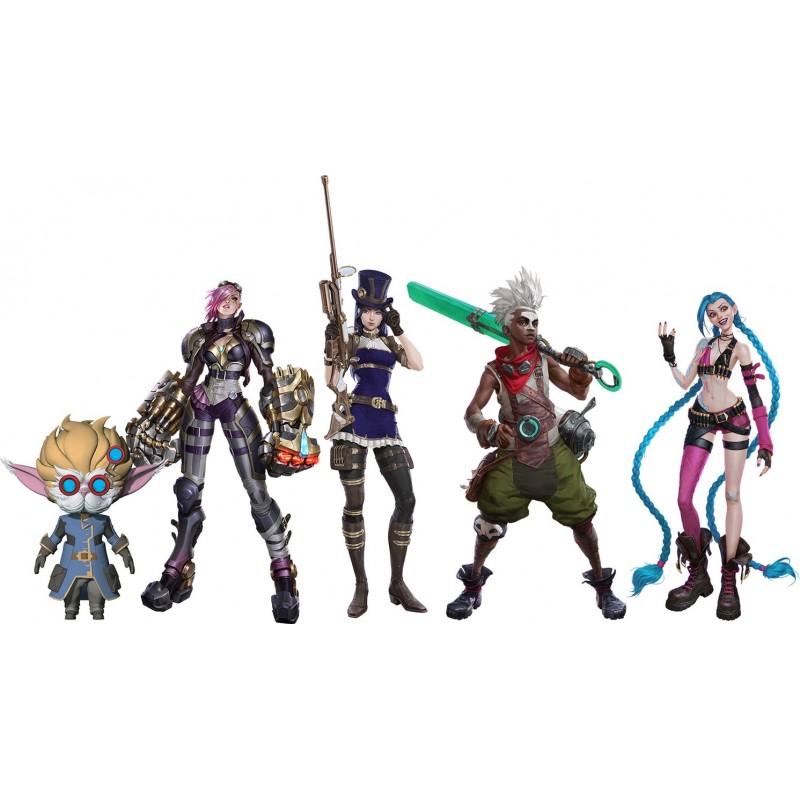League of Legends Wave 1 2021 Team Comp 5-pack Action Figures 10 cm