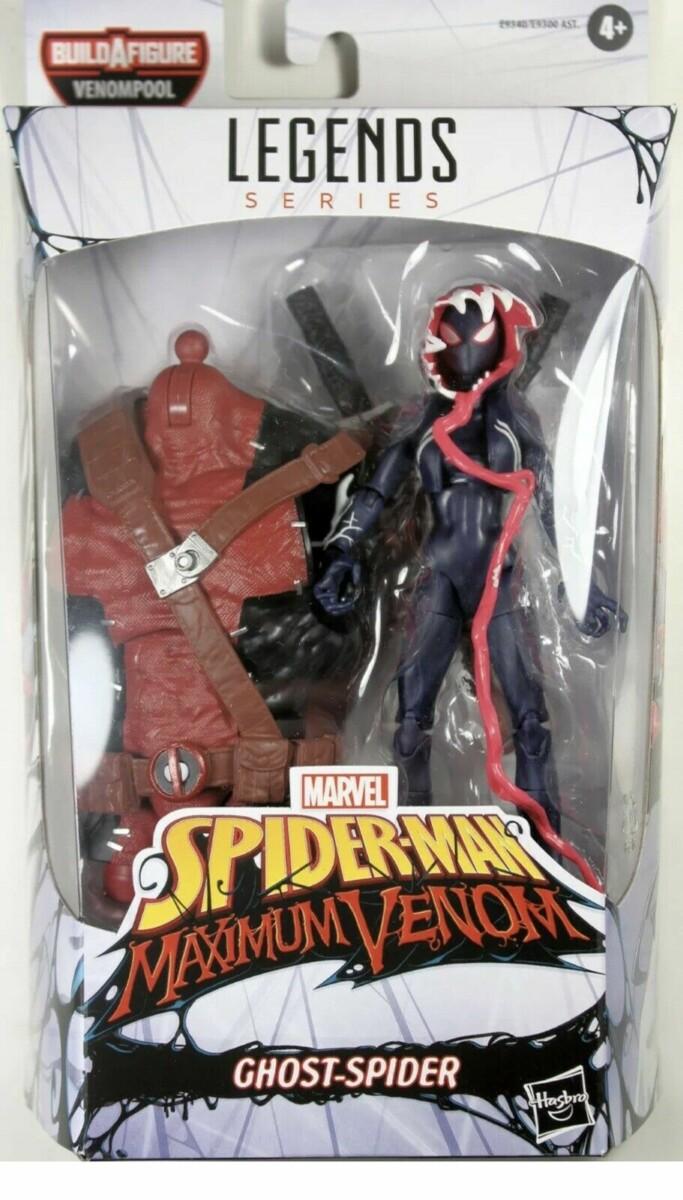"Spider-Man: Maximum Venom - Ghost-Spider Marvel Legends 6"" Action Figure 15 cm"
