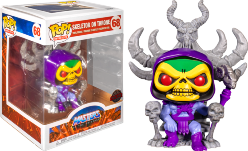 Masters of the Universe - Skeletor on Throne Deluxe Pop! Vinyl Figure Limited 9 cm (con bollino Special Edition)