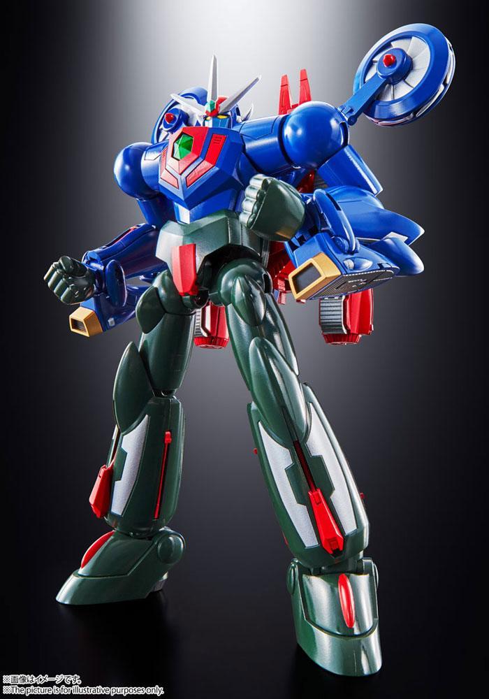 Getter Robot Go Soul of Chogokin Diecast Action Figure GX-96 Getter Robot Go 18 cm