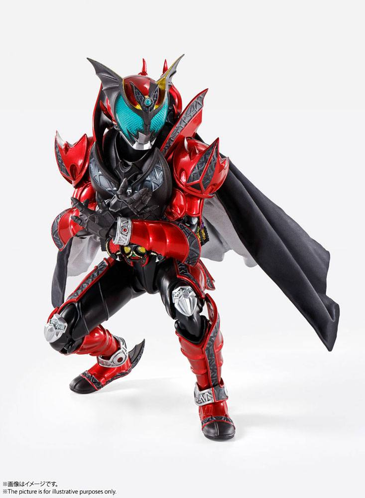 Kamen Rider Kiva S.H. Figuarts Action Figure Kamen Rider Dark Kiva 15 cm