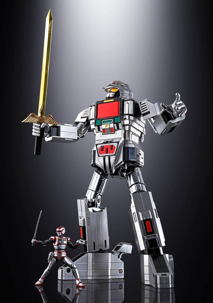 MegaBeast Investigator Juspion Soul of Chogokin Diecast Action Figure GX-97 Daileon 19 cm