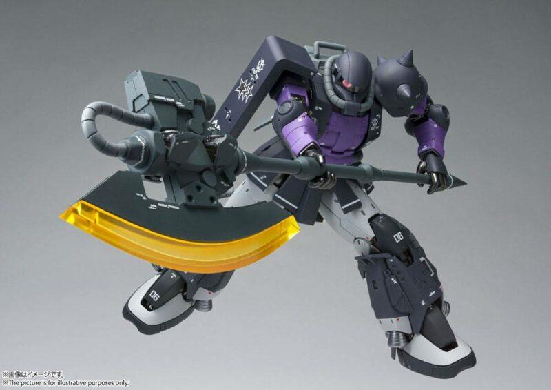 Mobile Suit Gundam The Origin GFFMC Action Figure MS-06R-1 A Zaku II High Mobility Type 18 cm