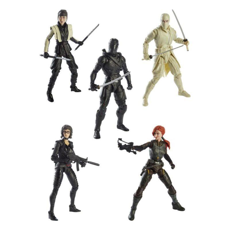 G.I. Joe Classified Series Snake Eyes: G.I. Joe Origins Action Figures 2021 Wave 4 Assortment (5)