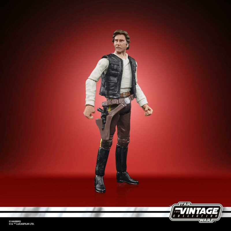 Star Wars Episode VI Vintage Collection Action Figure 2021 Han Solo (Endor) 10 cm