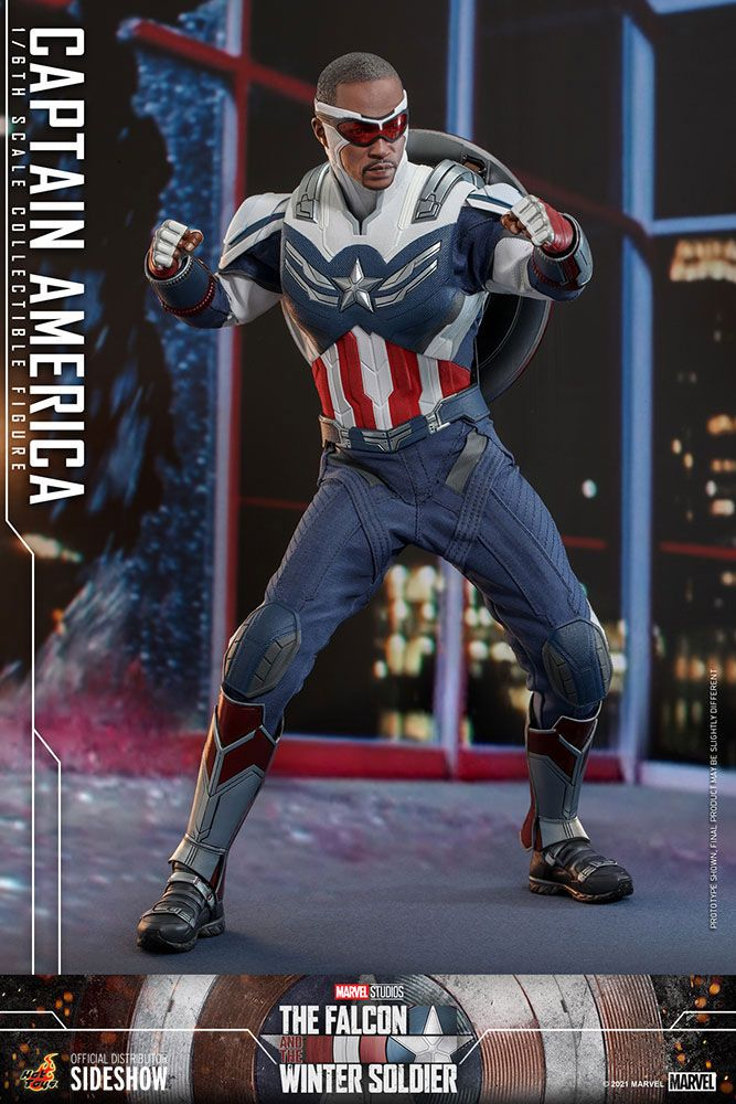 The Falcon and The Winter Soldier Action Figure 1/6 Captain America 30 cm