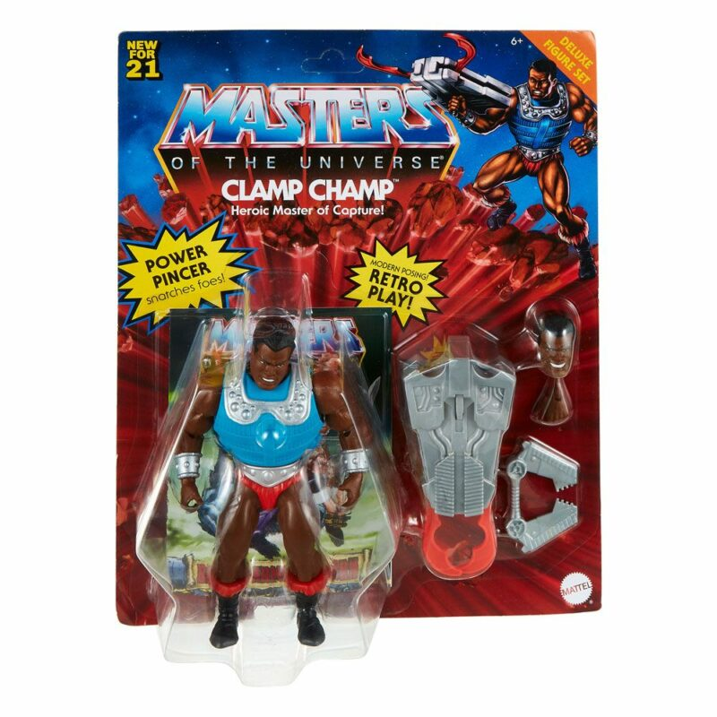 Masters of the Universe Deluxe Action Figure 2021 Clamp Champ 14 cm
