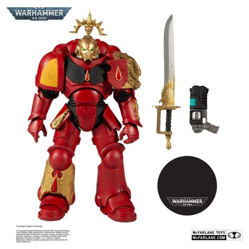 Warhammer 40k Action Figure Blood Angels Primaris Lieutenant (Gold Label Series) 18 cm