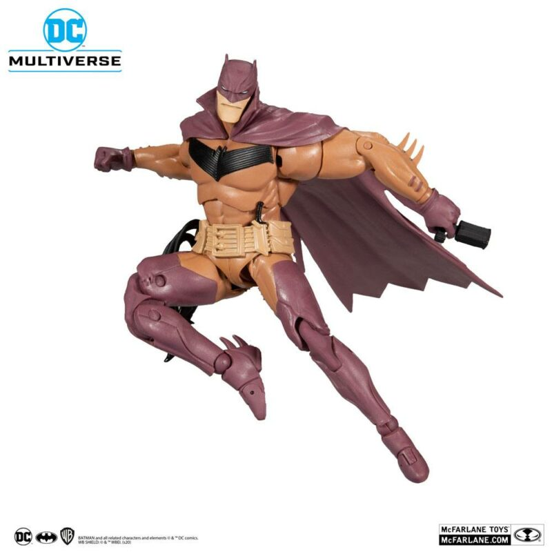 DC Multiverse Action Figure White Knight Batman (Red Variant) 18 cm