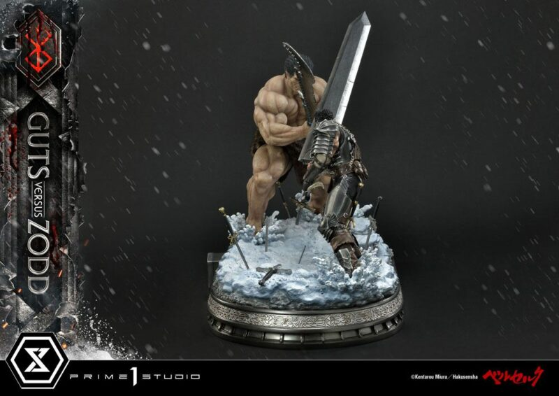 Berserk Statue 1/6 Guts Versus Zodd 51 cm