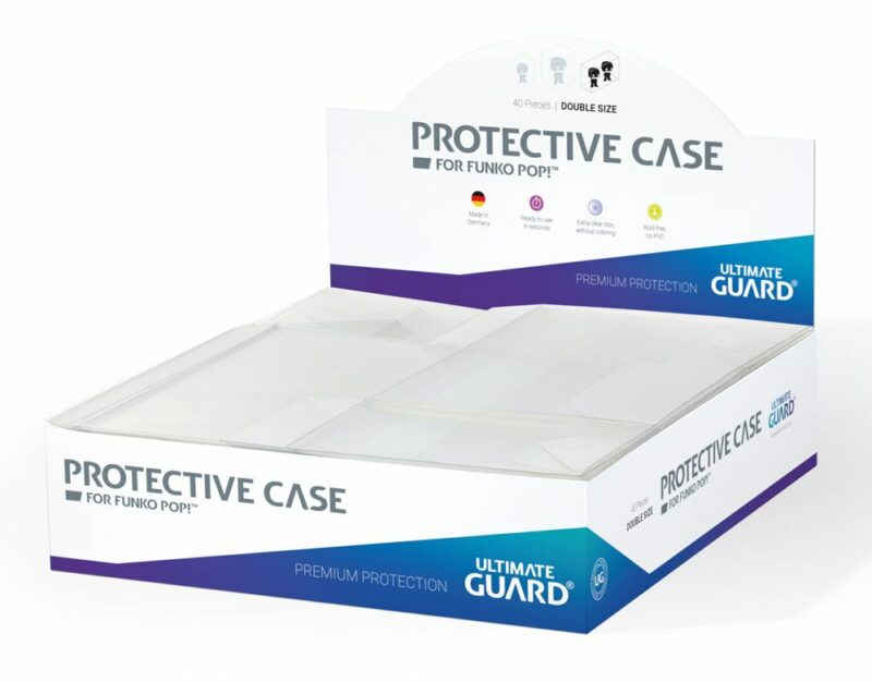 Ultimate Guard Protective Case for Funko POP!™ Figures Double Size (5)
