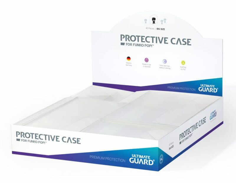 Ultimate Guard Protective Case for Funko POP!™ Figures Big Size (10)