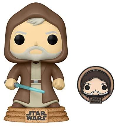 Star Wars POP! Vinyl Bobble-Head Figure Obi-wan Kenobi (Tatooine) Limited Edition with Enamel Pin 9 cm (con bollino Special Edition)