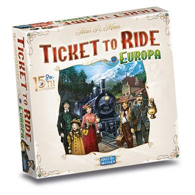 Ticket To Ride 15° Anniversario