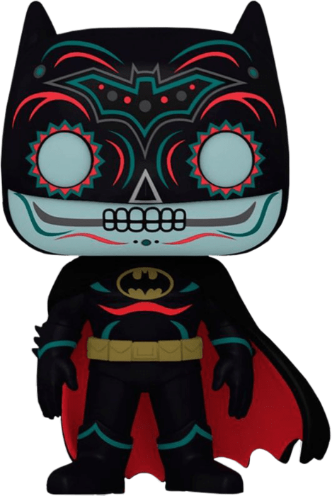 Batman POP! DC Vinyl Figure Batman Dia de los Muertos Glow in the Dark Limited 9 cm